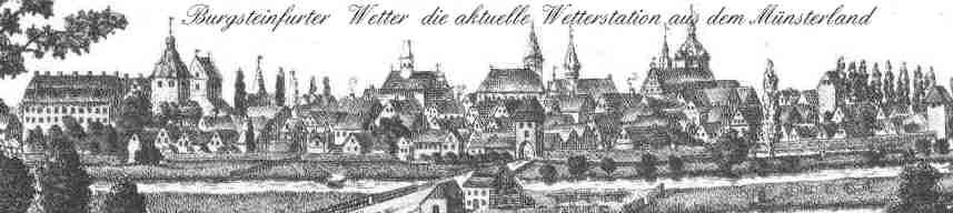 Burgsteinfurter Wetter